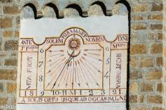 Cadran solaire de l'église de Ville-Vieille