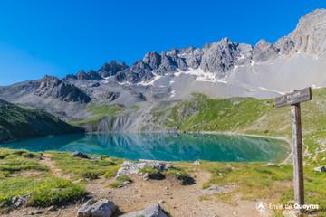 Randonn e lac miroir pr s de soubeyrand ceillac queyras for Lac miroir queyras