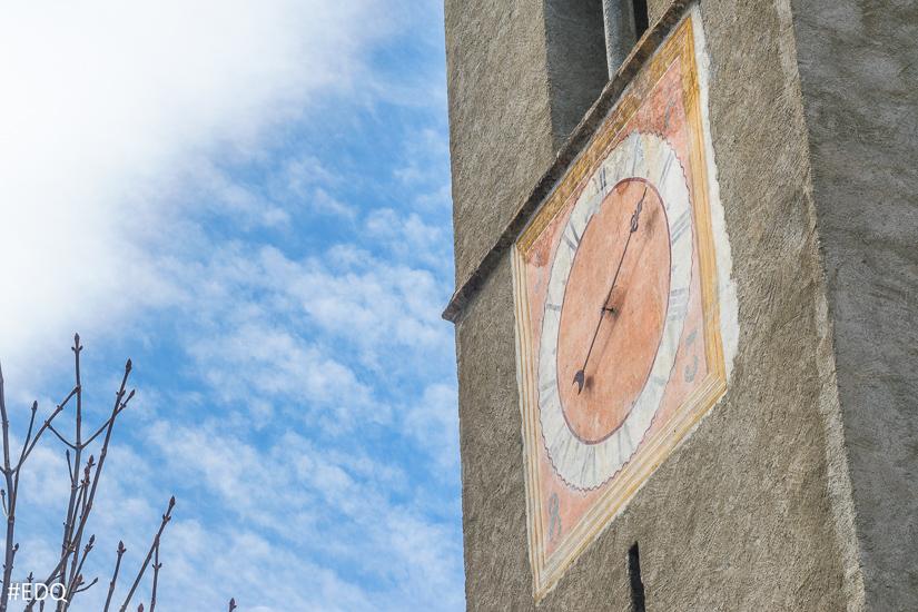 Cadran de l'église d'Aiguille
