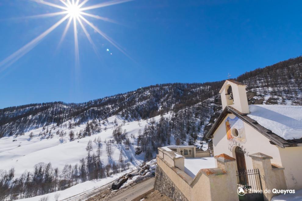chapelle saint pierre souliers hiver