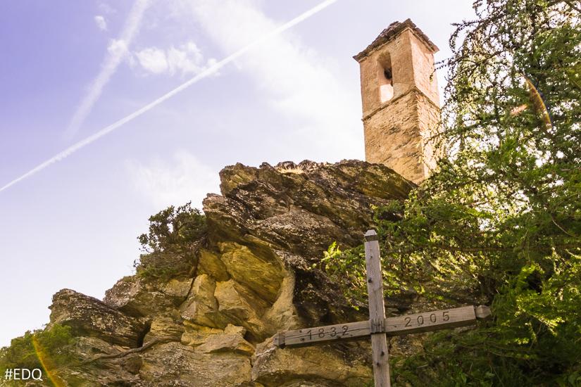 Le clocher du hameau du Malrif