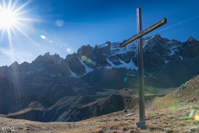 La croix de Rédemption de la Chapelle Sainte Anne