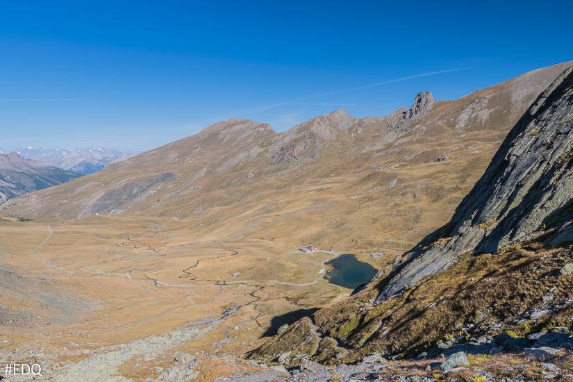 Dans la montée aux lacs Blanchet