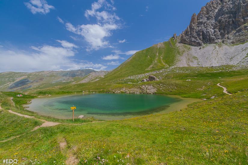 douces couleurs du lac de clausis