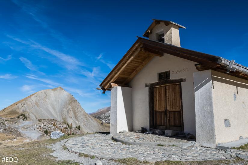 Entrée de la Chapelle Sainte-Anne