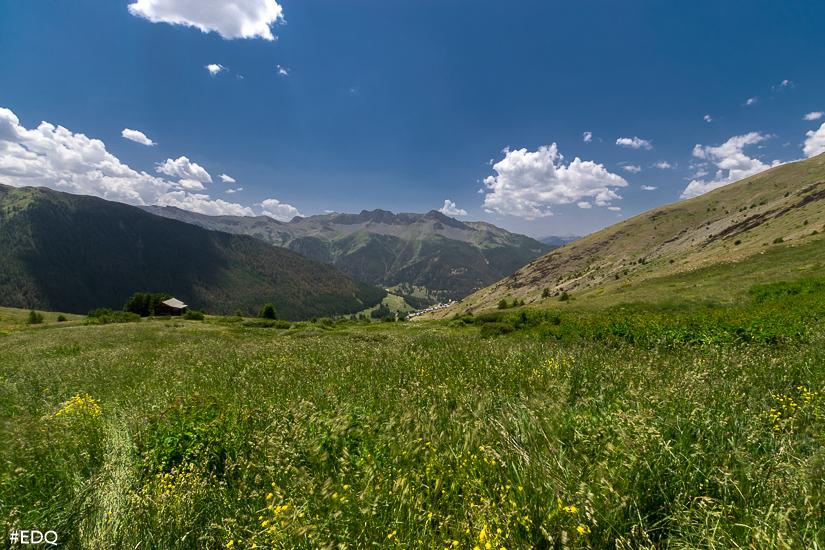 la bergerie le coin et prairie verte