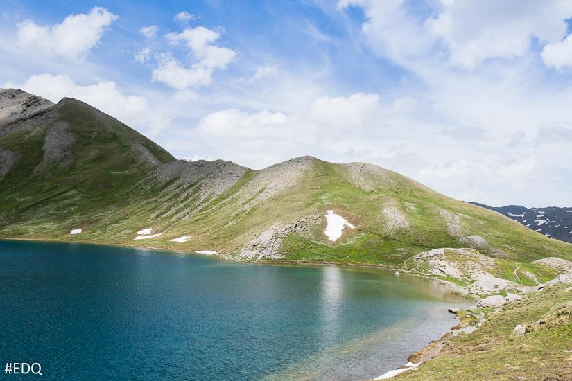 Le Lac du Grand Laus en juin