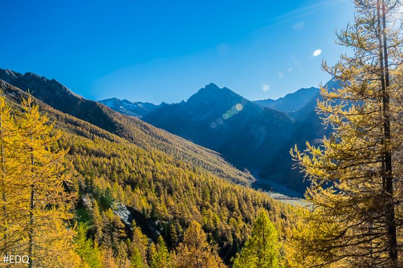 Le Haut Guil façon automne doré
