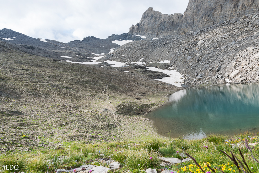 Le lac d'Asti sous Rocca Rossa