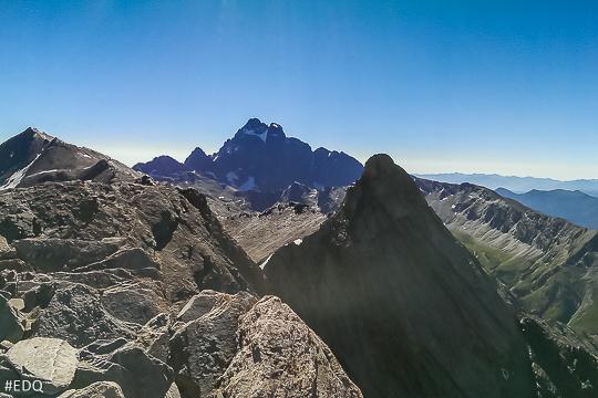Le Mont Viso depuis le Pain de Sucre
