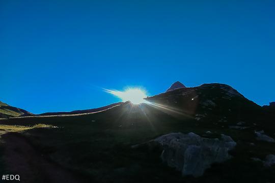 Lever de soleil au Col Vieux et Pain de Sucre