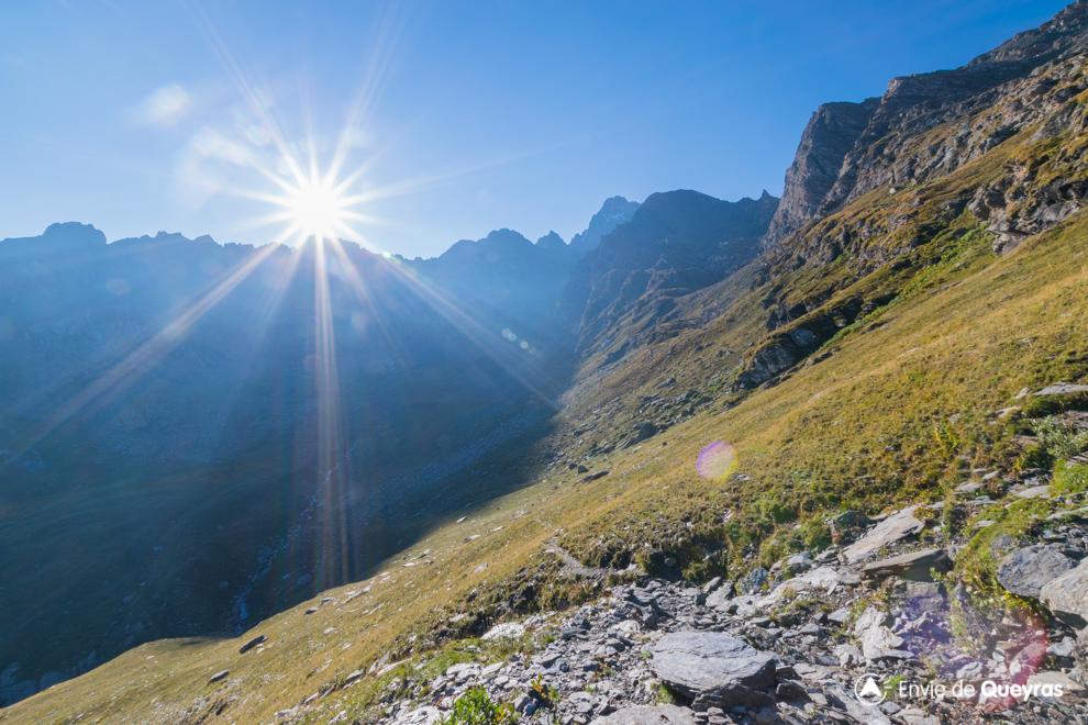 lever de soleil viso contre jour