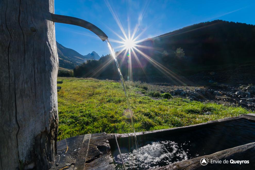 lever soleil sur fontaine valpreveyre