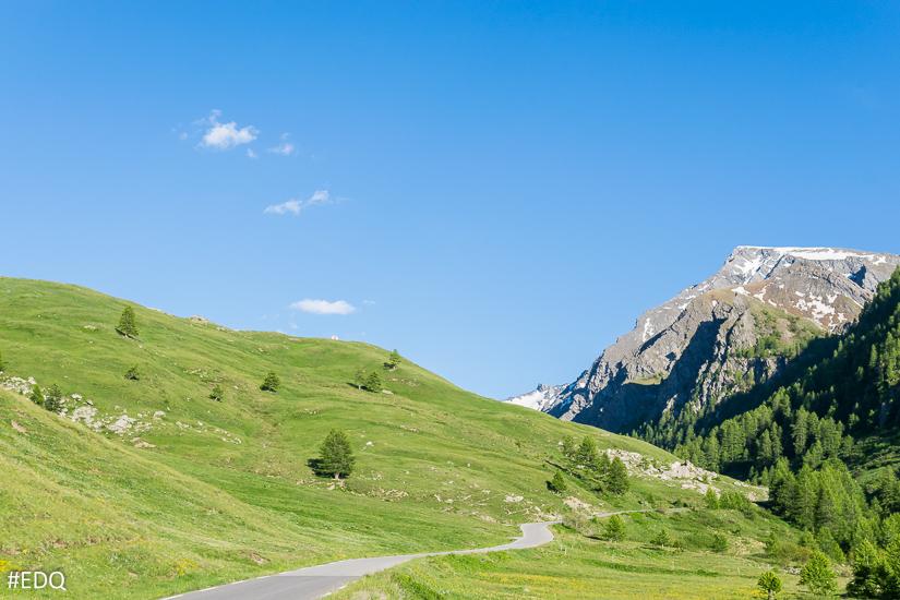 La route du Col Agnel : ascension