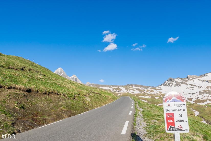 Sur la route du Col Agnel