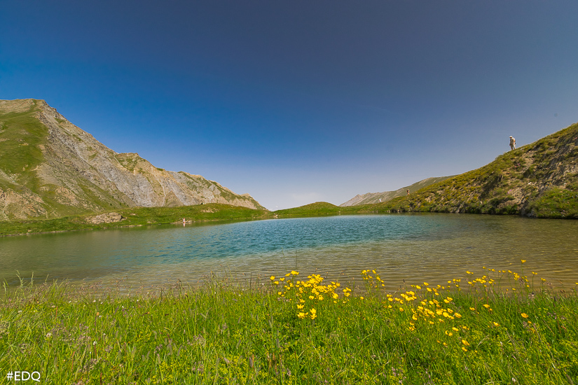 sur les berges du lac de clausis