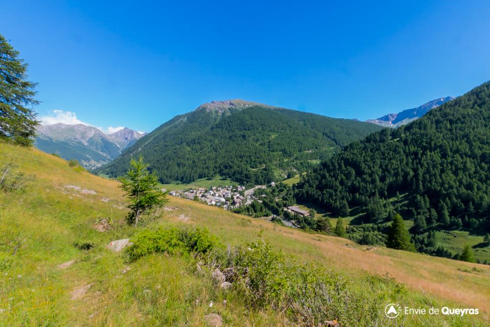 village de ristolas depuis alpage