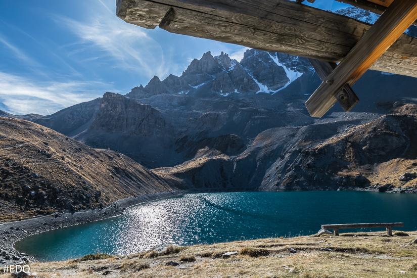 Vue sur le lac depuis la Chapelle Sainte-Anne