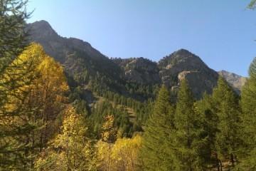 La saison d'automne est arrivée dans le Queyras : à vous les belles couleurs !