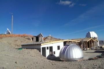 Observatoire de Chateau-Renard : les travaux d'agrandissement avancent !