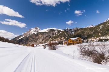 Domaine ski nordique de Ceillac - Vallée du Cristillan