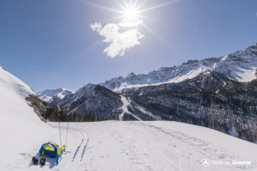 Itinéraire ski Nordique - Les Balcons de Ceillac