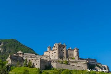Fort Queyras, Chateau Fort Dauphinois du XIIième siècle