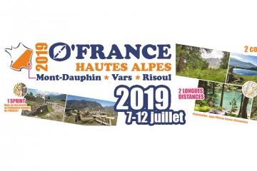 O'France 2019 - Course Internationale d'Orientation