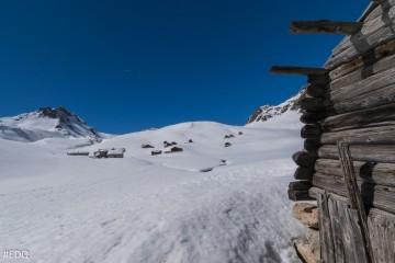 Escapade en raquette aux chalets d'alpage de Clapeyto