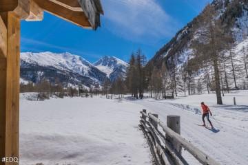 Domaine ski nordique d'Abriès-Ristolas - Vallée du Haut-Guil