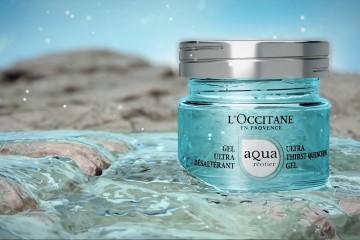 Fontaine Pétrifiante : la première gamme Aqua Réotier de l'Occitane officialisée