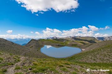 Le Lac de l'Etoile (2755m) par les Crêtes des Couniets