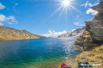 Lacs Malrif (depuis Bergerie du Lombard / Aiguilles)
