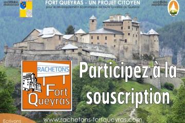 Rachetons Fort Queyras : la souscription citoyenne est lancée