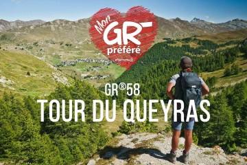 Concours Mon GR Préféré 2021 : votez GR58 Tour du Queyras !