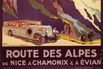 Petit Retour sur l'Exposition Mythique Route des Alpes (Evian)