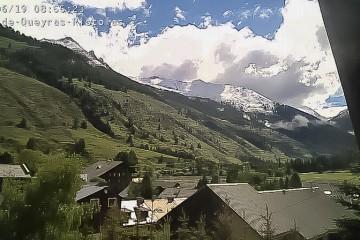 Nouvelle chute de neige ce 19 juin dans le Queyras