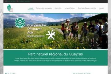 Le site du Parc Naturel Régional du Queyras fait peau neuve !