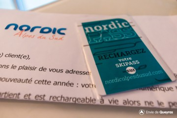 Nouveaux Skipass Nordic Alpes du Sud : les forfaits enfin numérisés