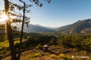 Panoramique de Peyre Haute