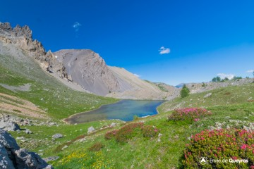Lac du Lauzon (depuis le Col Néal)