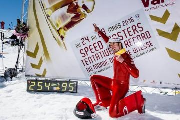 Vars Speed Masters 2016 : pluie de records du monde, Ivan Origone flashé à 254,958 km/h
