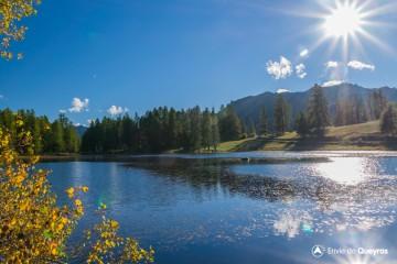 Le Lac de Roue (par les Maisons)