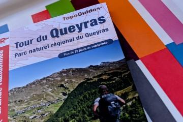 Sortie de l'édition 2021 du Topo Guide GR58 Tour du Queyras FFRandonnée