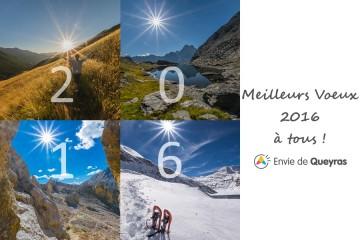 Meilleurs Voeux 2016 pour cette nouvelle année qui commence