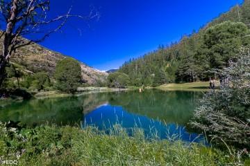 Pêche au plan d'eau d'Aiguilles (plan d'eau du Gouret)