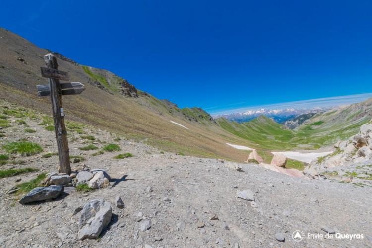 Le Col de Serenne 2674m par le Vallon Laugier (depuis Basse Rua)
