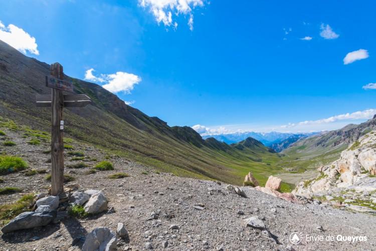 Le Col de Serenne 2674m (depuis le Parking des Couniets)