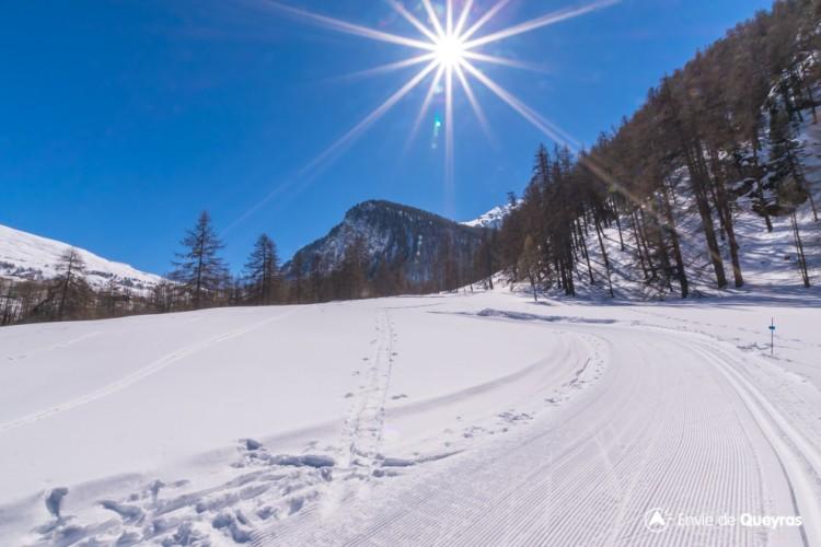 Domaine ski nordique de Molines/Saint-Véran - Vallée des Aigues