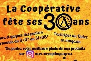 30 ans de la Coopérative